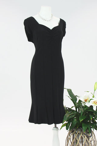 Never The Less Dress - Black
