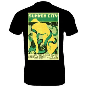 SUNKEN CITY OCTOPUS PULP ART MEN'S T-SHIRT