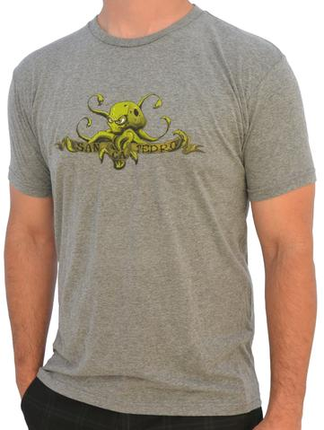 SUNKEN CITY OCTOPUS MEN'S FASHION T-SHIRT