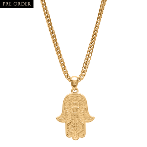 HAMSA NECKLACE - GOLD