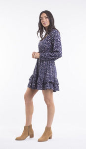 ALL ABOUT EVE CLEO PRINTED DRESS