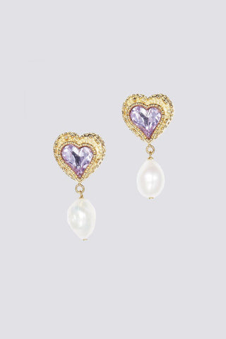 PINK EDEN LOVE EARRINGS
