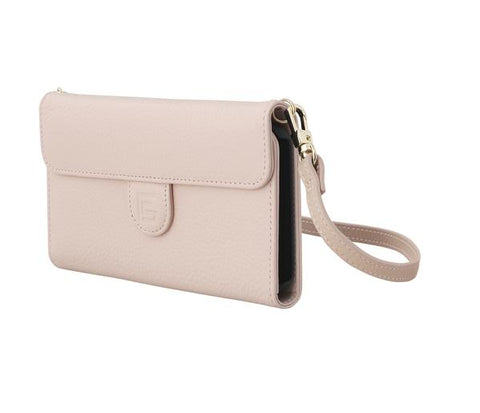 CrossBody Bag with Phone Case - Pebble - Millennial Pink