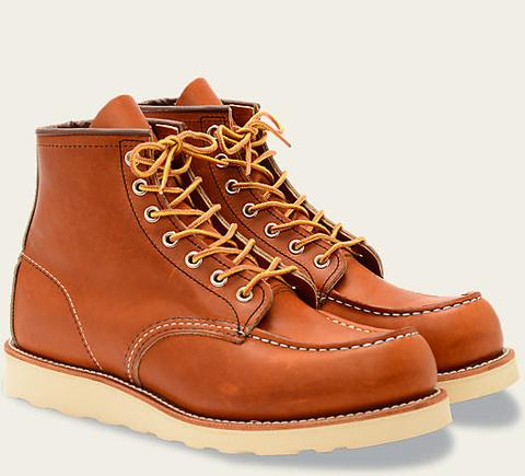 Red Wing Heritage 6 Inch Classic Moc #875 // Oro Legacy Leather