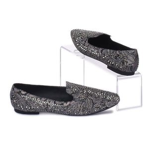 "Loafers ""Silver"" -SHEM1051 PREVIOUS NEXT"