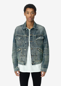 DENIM JACKET DEEP INDIGO