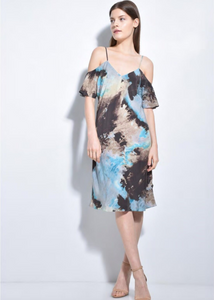 Go Silk Go Reveal Dress Print