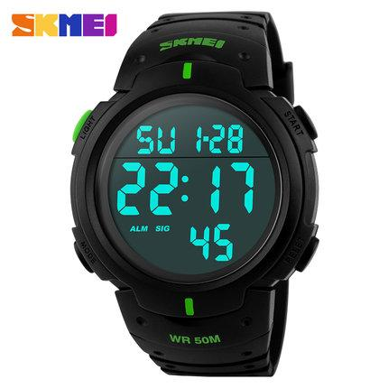 2018 Luxury Brand Men's Sports Dive 50m Digital LED Military Watch