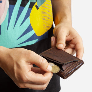 SLIM WALLET COINS POCKET