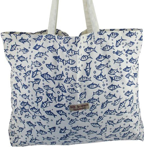 Sophie Bag Fish Design - Bill Brown Bags
