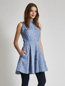 FINAL SALE: THE KELSEY DRESS - LINEN & PRINTS