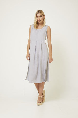 VALIA LONG LINE DRESS