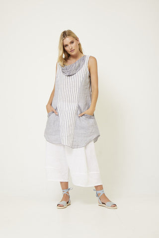 VALIA MULTI STRIPES TUNIC