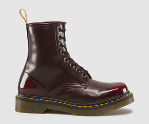 1460 VEGAN 8-EYE BOOT CHERRY RED BY DR. MARTEN'S