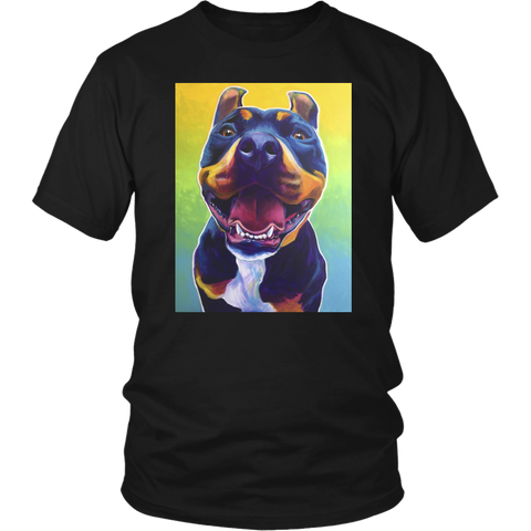 Happy Rottweiler T-Shirt