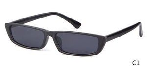 SKINNY CAT-EYE SUNGLASSES