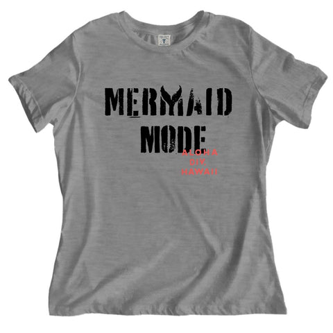 MODE GRAY RELAXED TEE