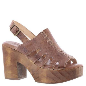 BEDSTU Fontella Tan Rustic Wedge