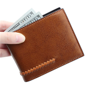 Classic Brown Leather Wallet