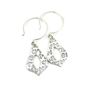 Arabesque Silver Earrings