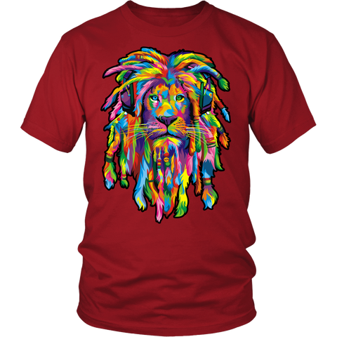 Lion Rasta T-Shirts and Hoodies