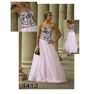 Strapless Elegant Evening Dress