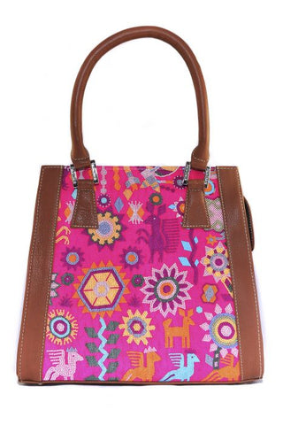 HUICHOL SPIRIT YAAB BAG