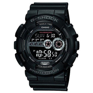 CASIO MEN'S GD100-1BCR G-SHOCK X-LARGE BLACK MULTI-FUNCTIONAL SPORTS WATCH