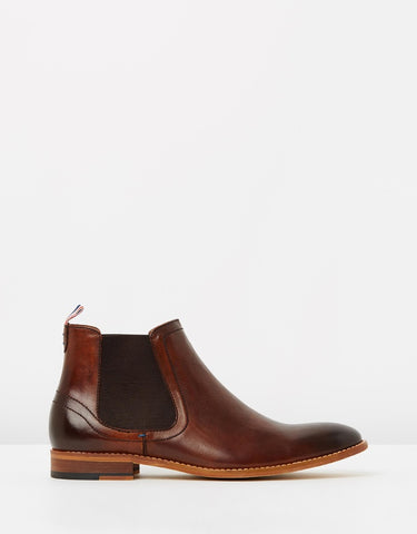 Gordon Leather Gusset Boots