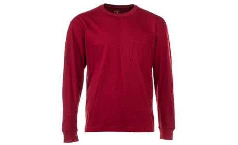 RedHead Long-Sleeve Pocket T-Shirt for Men