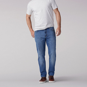 MODERN SERIES REGULAR FIT TAPERED LEG JEAN