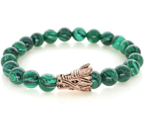 Dragon R Collection - Green Malachite