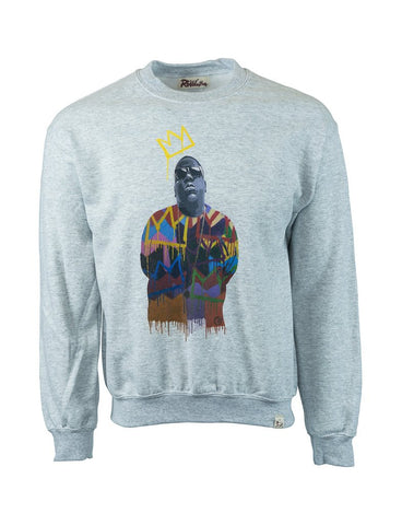 BIGGIE GREY SWEATSHIRT BY HERO