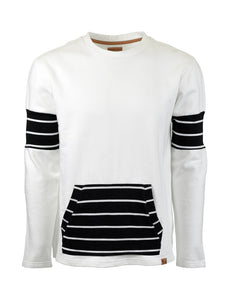 STRIPPED SWEATSHIRT BY SOCIALE REVOLUTION