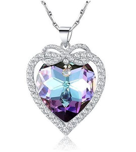 "Violet"" Swarovski Pendant Necklace"