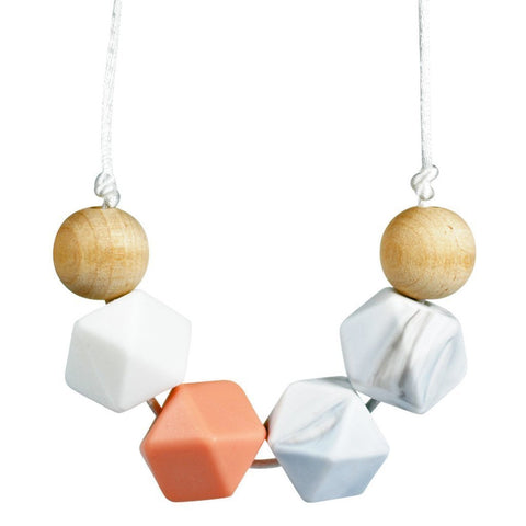 Glitter & Spice Teething Necklace - Eira