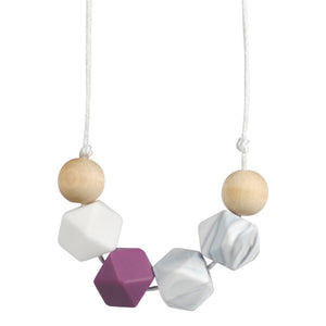 Glitter & Spice Teething Necklace - Gaia