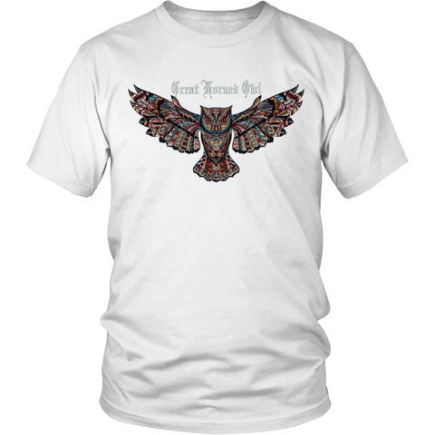 Great Horned Owl T-Shirt Inspired by the Oklahoma City Owl Family