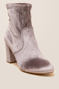 Mide Velvet Sock Boot