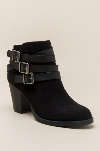 Parody Belted Ankle Boot