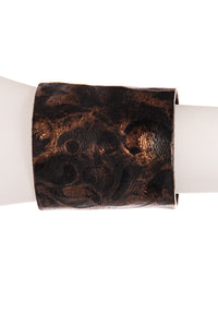 METALLIC LEATHER CUFF
