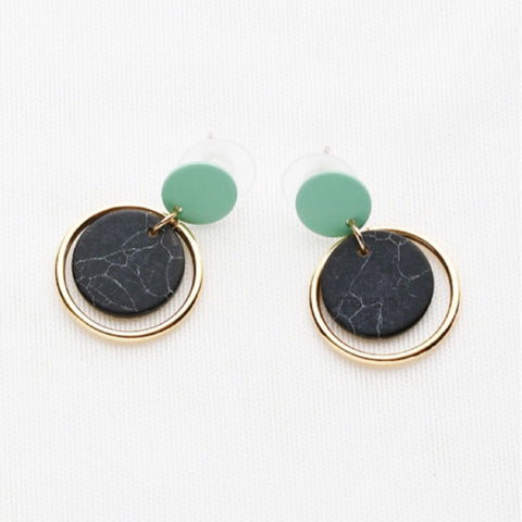 Kipling Granite Earrings