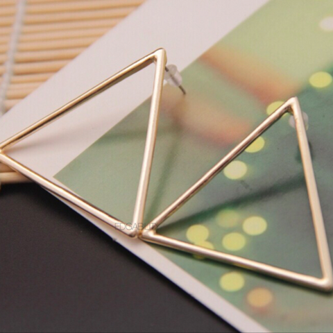 Tolkein Triangle Earrings