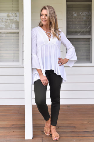Brielle Blouse - Off white