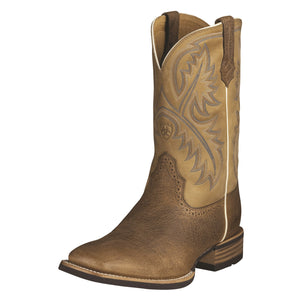 Ariat Men's Tumbled Bark Quickdraw Western Boot