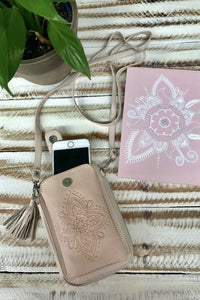Splendour Phone Pouch Bag in Creme