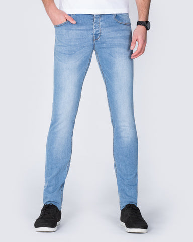 2t Skinny Fit Jeans (stone)