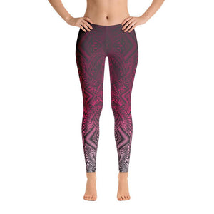 Hanau Tattoo Leggings (Metallic)
