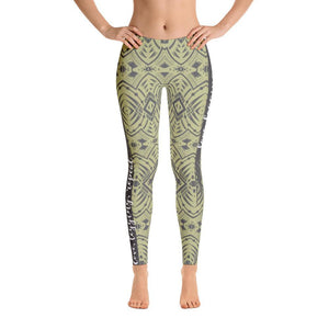 Tribal Tattoo Love Legging Repeat