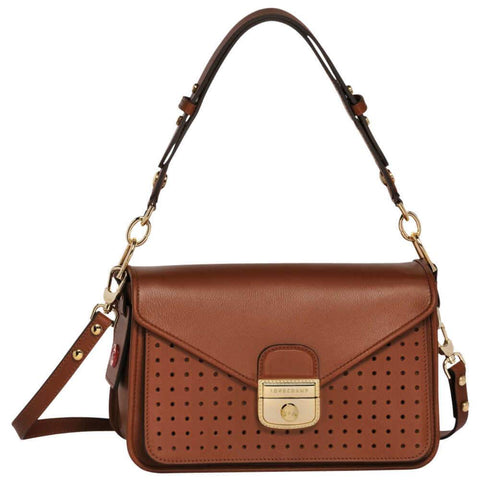 Mademoiselle Longchamp Shoulder Bag S Cafe